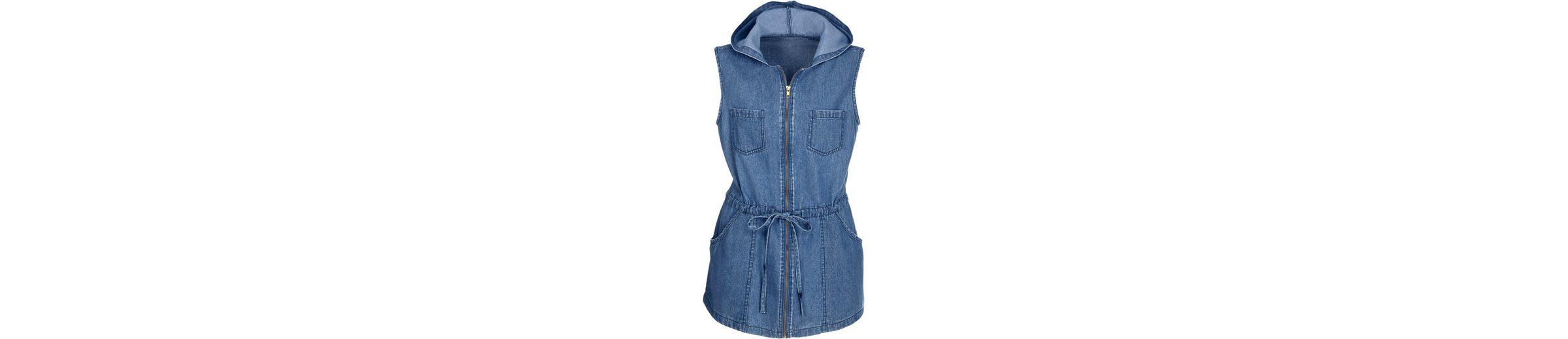 Classic Basics Jeans-Weste mit Kapuze Spielraum Erhalten Authentisch Sneakernews Online Echt Verkauf Online Günstig Kaufen 1rnec8
