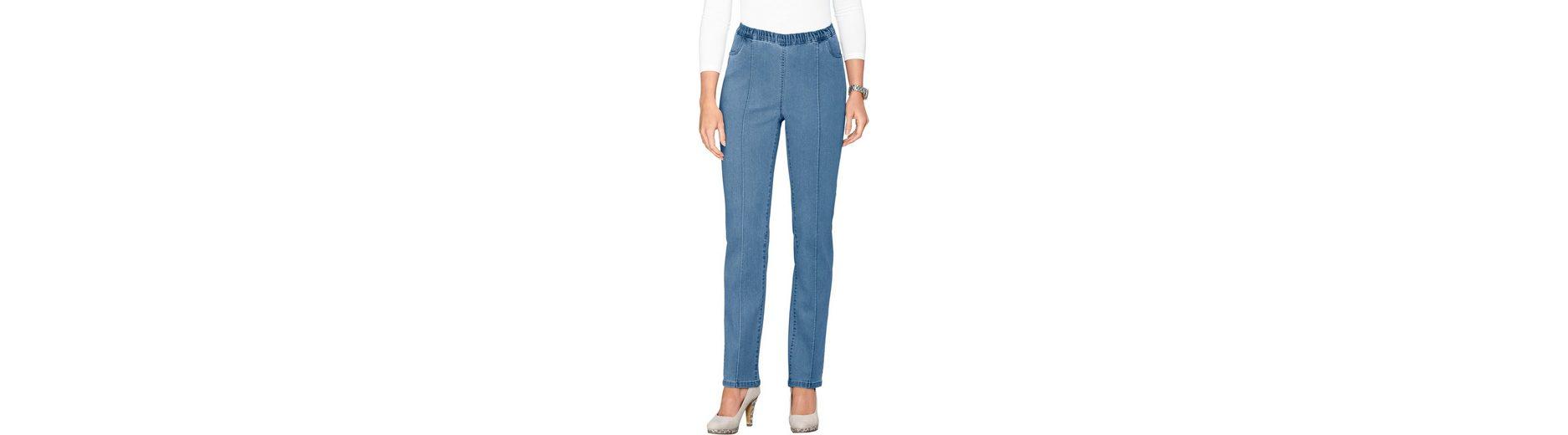 Günstigste Online-Verkauf Verkauf Am Besten Classic Basics Jeans mit abgesteppte Biesen im Vorderteil xSDKWOp6x