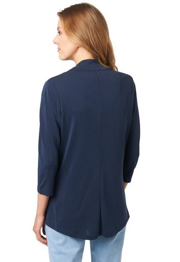 Bonita Shirtjacke mit Soft-Touch