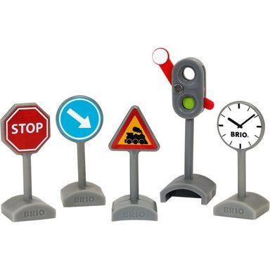 BRIO® Verkehrszeichen-Set