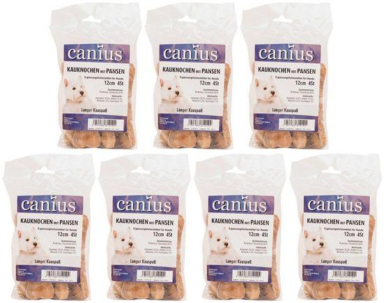 CANIUS Hundesnack »Kaukochen mit Pansen 12 cm«, 7 x 280 g