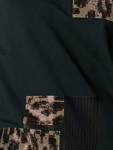 Rick Cardona By Heine Sweatshirt With Rivets And Sequins
