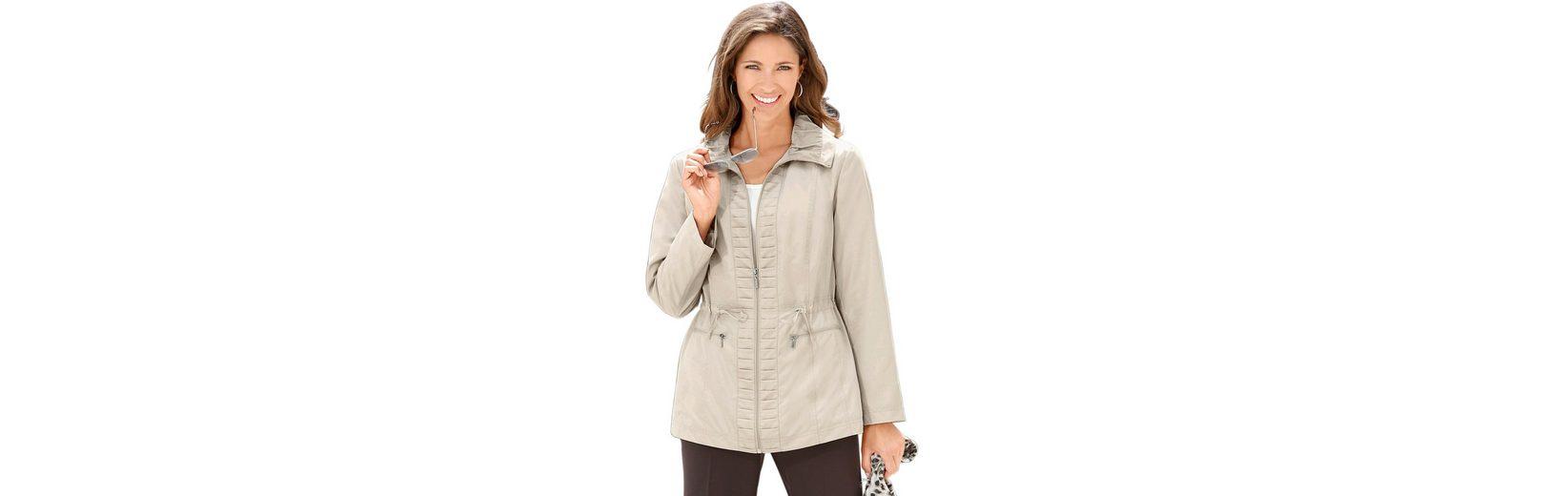 Classic Basics Jacke mit Raffung am Kragen Footlocker Zum Verkauf Verkauf Mode-Stil pjOFWlxk