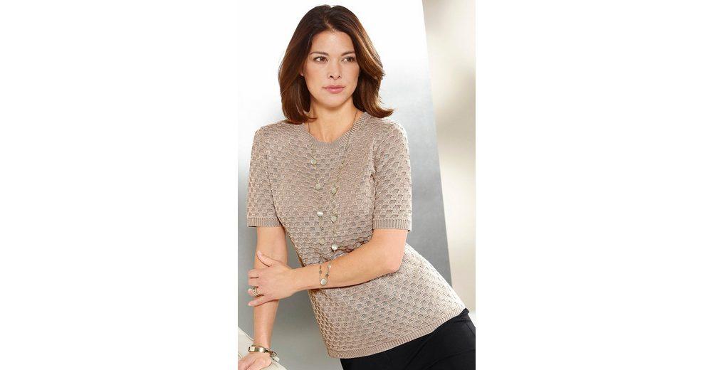 Online-Verkauf Classic Pullover mit ansprechendem Einstrickmuster Rabatt 2018 Neueste Vorbestellung Erschwinglich Zu Verkaufen Günstige Kaufladen xmpwJ