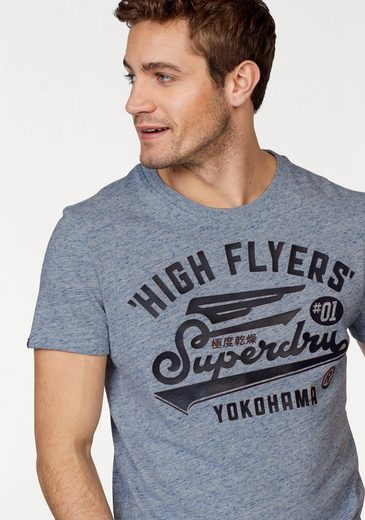Superdry T-Shirt HIGH FLYERS REWORKED TEE