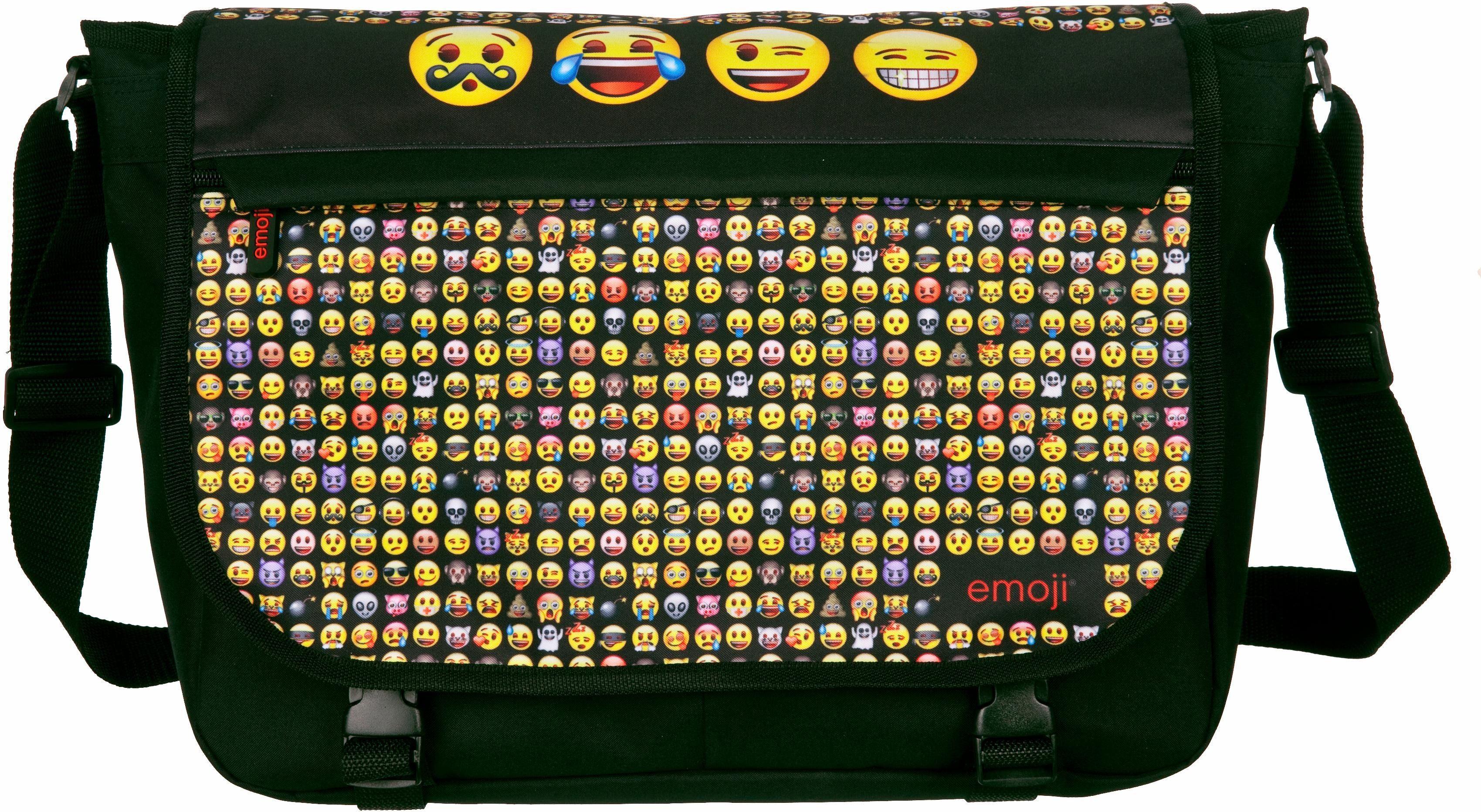Undercover Schultertasche, »Emoji«