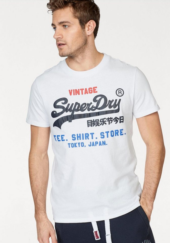 superdry t shirt shirt shop tri tee kaufen otto. Black Bedroom Furniture Sets. Home Design Ideas