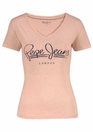 Pepe Jeans T-Shirt BRENDA, mit Logo-Print