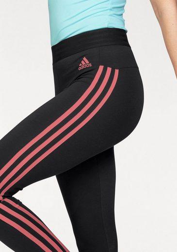 adidas Performance Leggings ESSENTIALS 3 STRIPES TIGHT