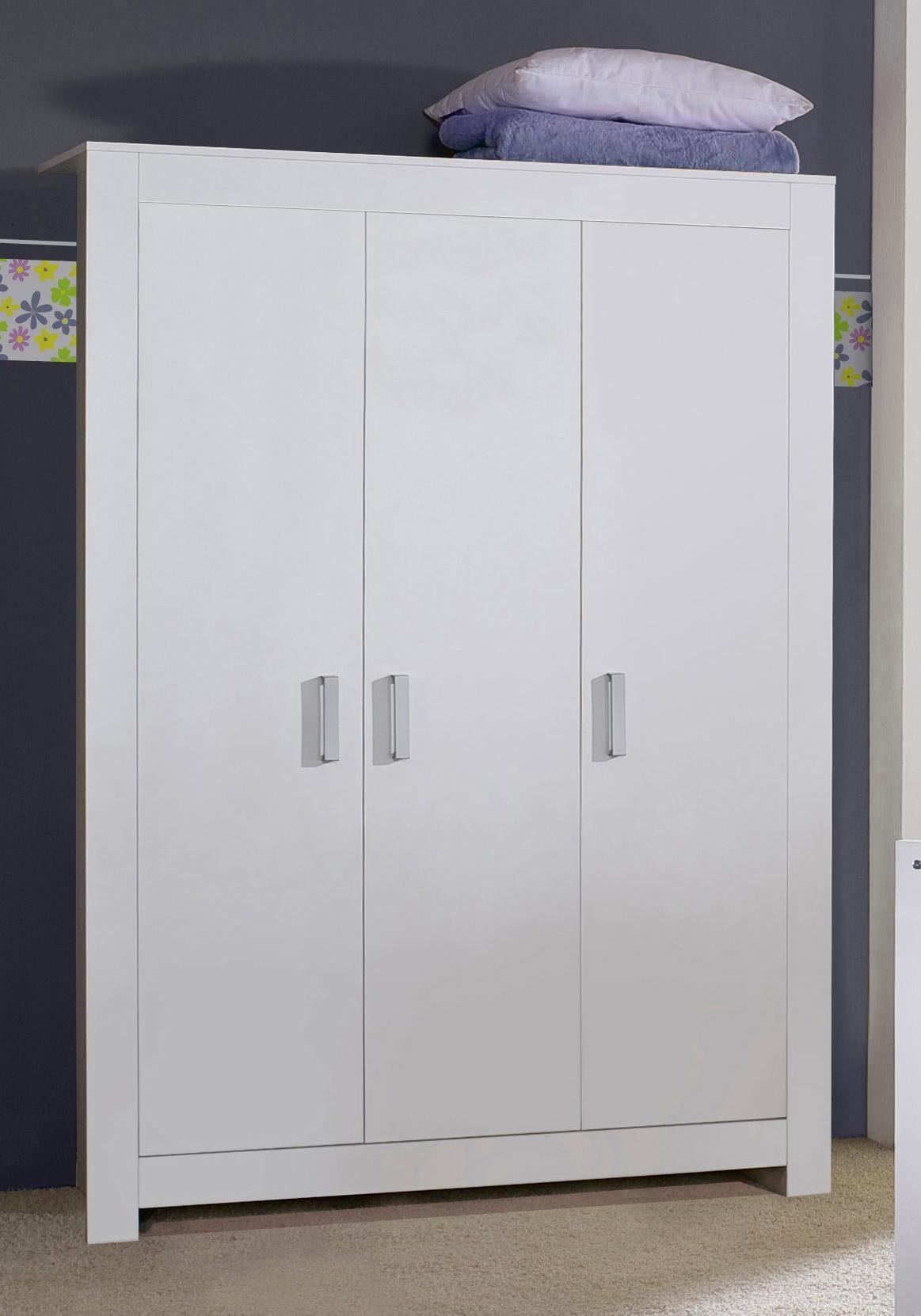 3-tlg. Schrank passend zur Möbelserie »Kopenhagen«, in weiß matt