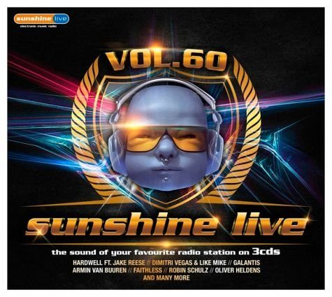 Audio CD »Diverse: Sunshine Live 60«