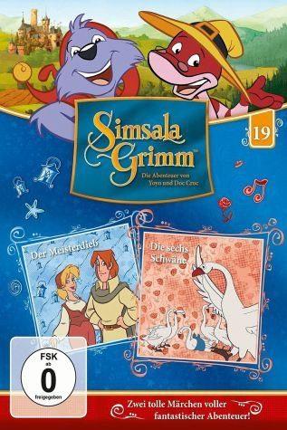 DVD »SimsalaGrimm 19 - Der Meisterdieb / Die sechs...«
