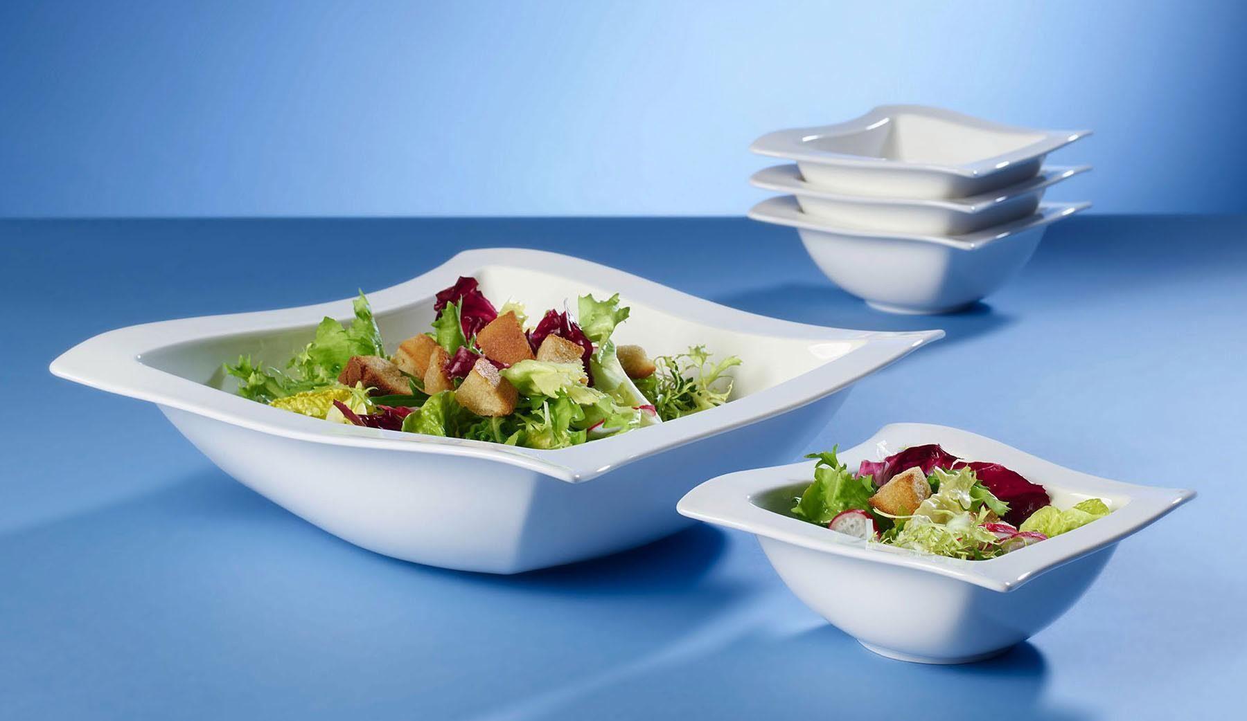 Villeroy & Boch Salat-Set, Porzellan, 5 Teile, »NewWave«