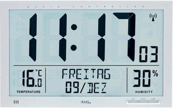 AMS Funkwanduhr »F5888«