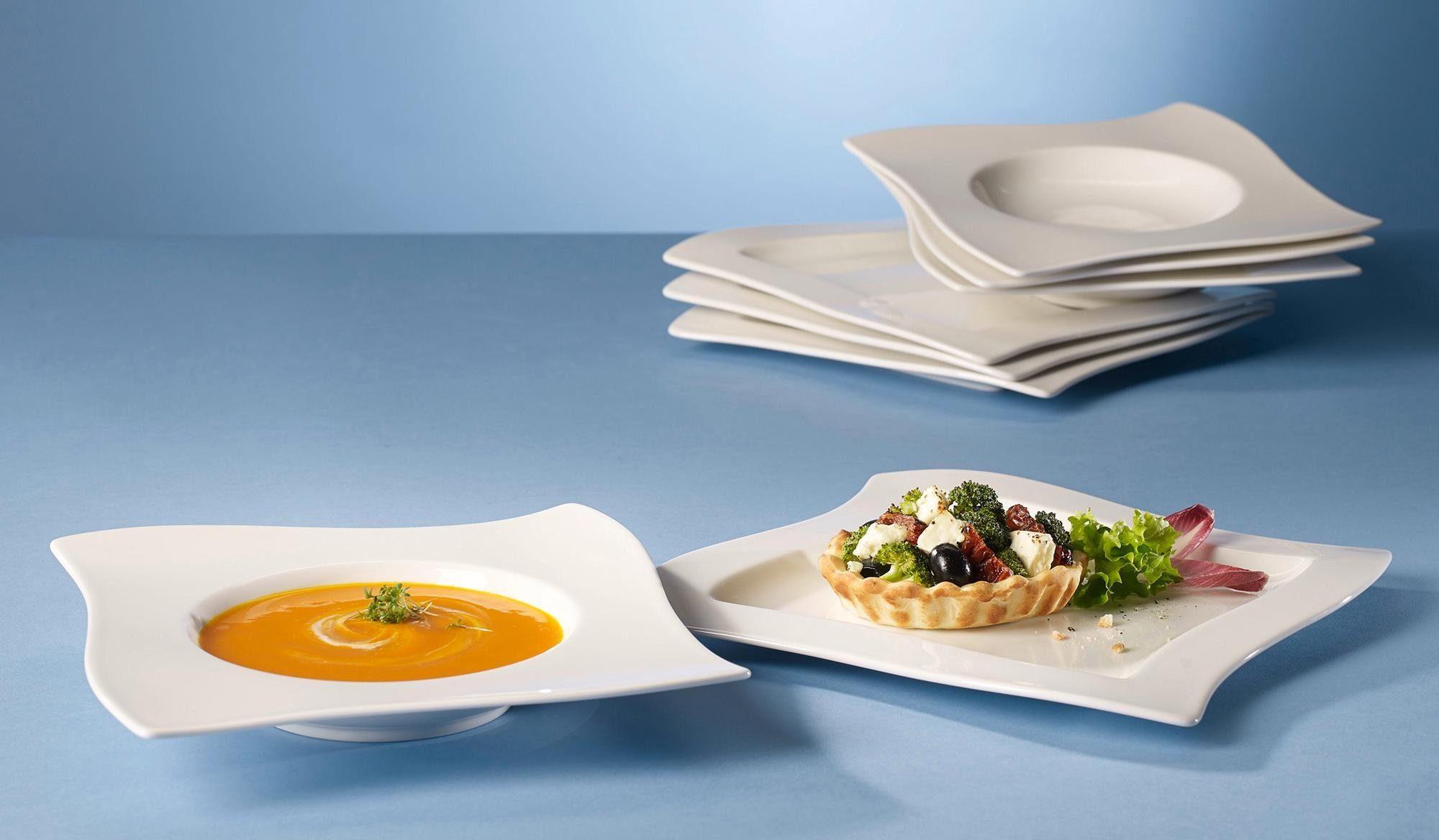 Villeroy & Boch Dinner-Set, Porzellan, 8 Teile, »NewWave«