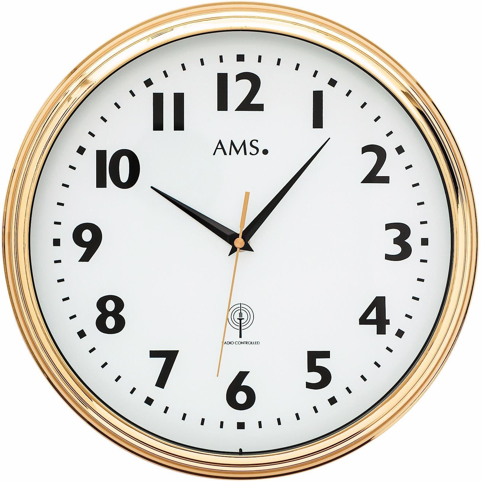 AMS Funk-Wanduhr, »F5963«