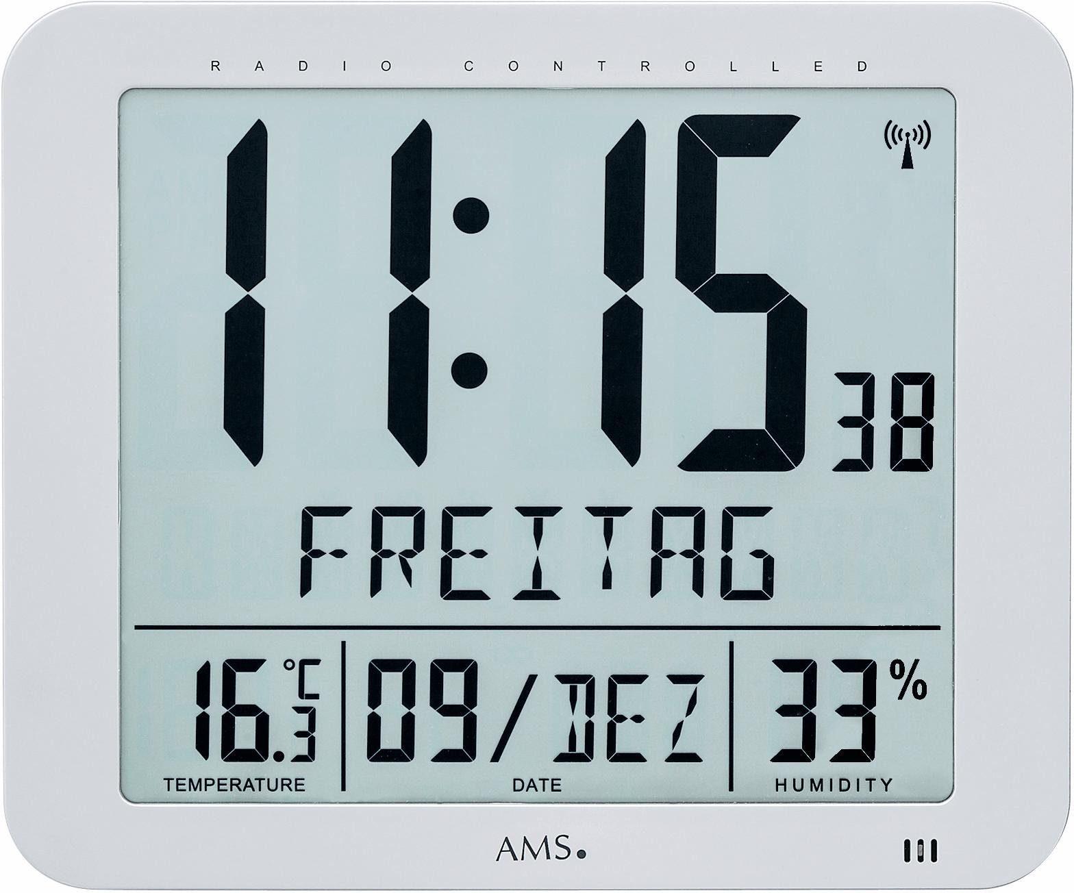 AMS Funk-Wanduhr, »F5884«
