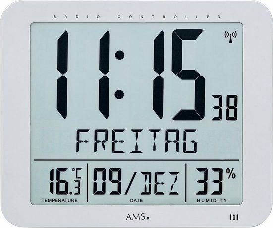 AMS Funkwanduhr »F5884«