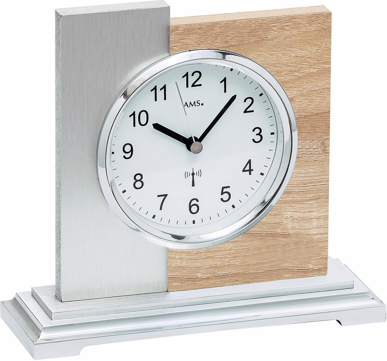 AMS Funk-Tischuhr, »F5151« | Dekoration > Uhren > Standuhren | Holz - Sonoma | AMS