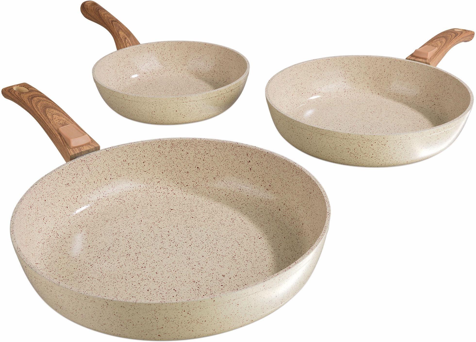 BRATmaxx Geschmiedete Keramikpfannen, Aluminium, Induktion