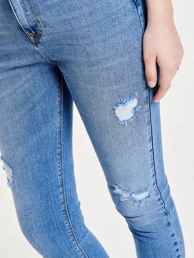 Only Studio2 hoher Taillenbund Knöchel Slim Fit Jeans