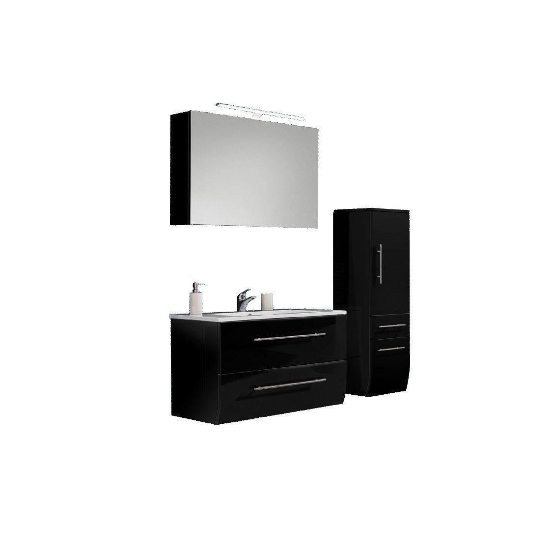 SalesFever Badmöbel-Set, Breite 70 cm (3-tlg.) Deluxe »Nizana«