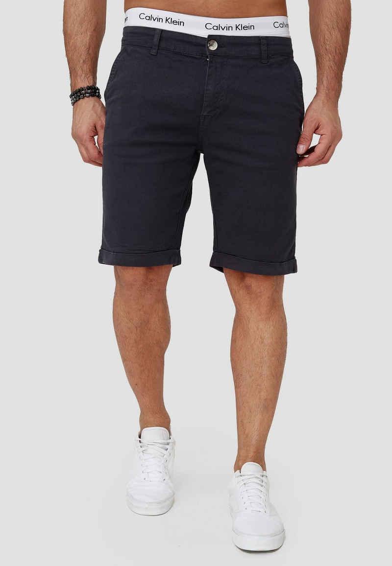 OneRedox Shorts »SH-3364« (Kurze Hose Bermudas Sweatpants, 1-tlg., im modischem Design) Fitness Freizeit Casual