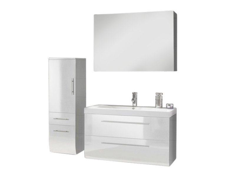 salesfever badm bel set breite 120 cm 3 tlg zalona deluxe online kaufen otto. Black Bedroom Furniture Sets. Home Design Ideas