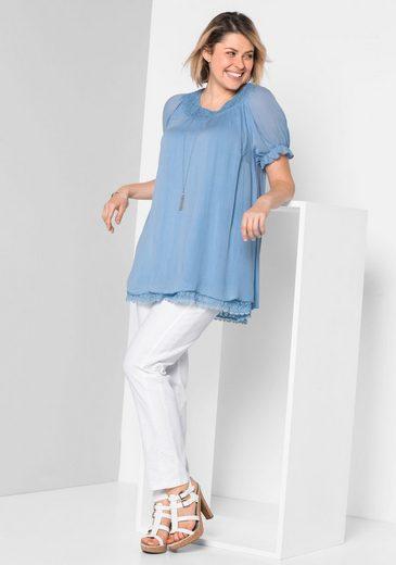 sheego Style Tunika, Im Crinkle-Look