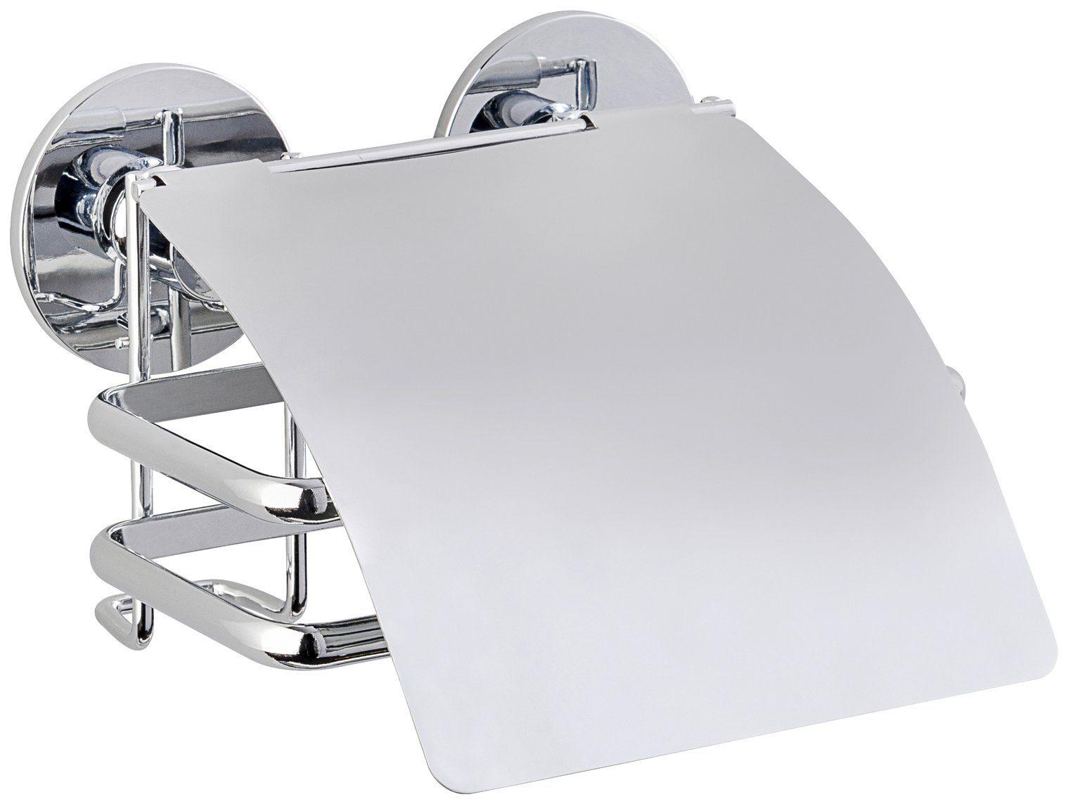 WENKO Toilettenpapierhalter »Express-Loc Cali«, Mit Deckel