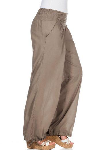 sheego Casual Pumphose, Im orientalischen Stil