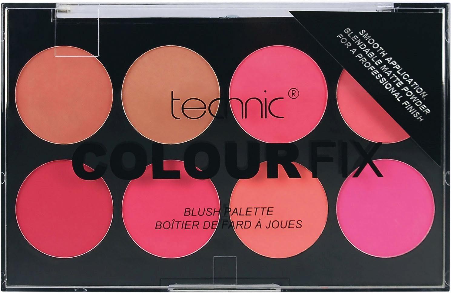technic Rouge-Palette »Colour Fix Blush«, 8 Farben