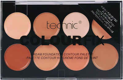 technic Contouring-Palette »Colour Max Cream Foundation Contour«, 8-tlg.