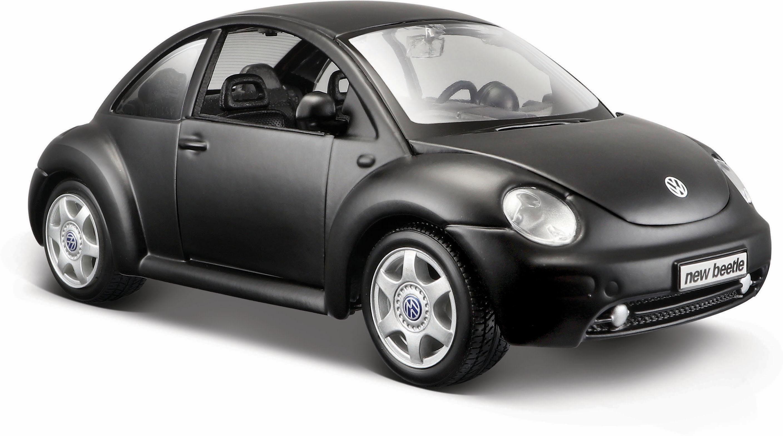 Maisto® Sammlerauto, »Dull Black Collection, VW New Beetle, 1:24, schwarz«