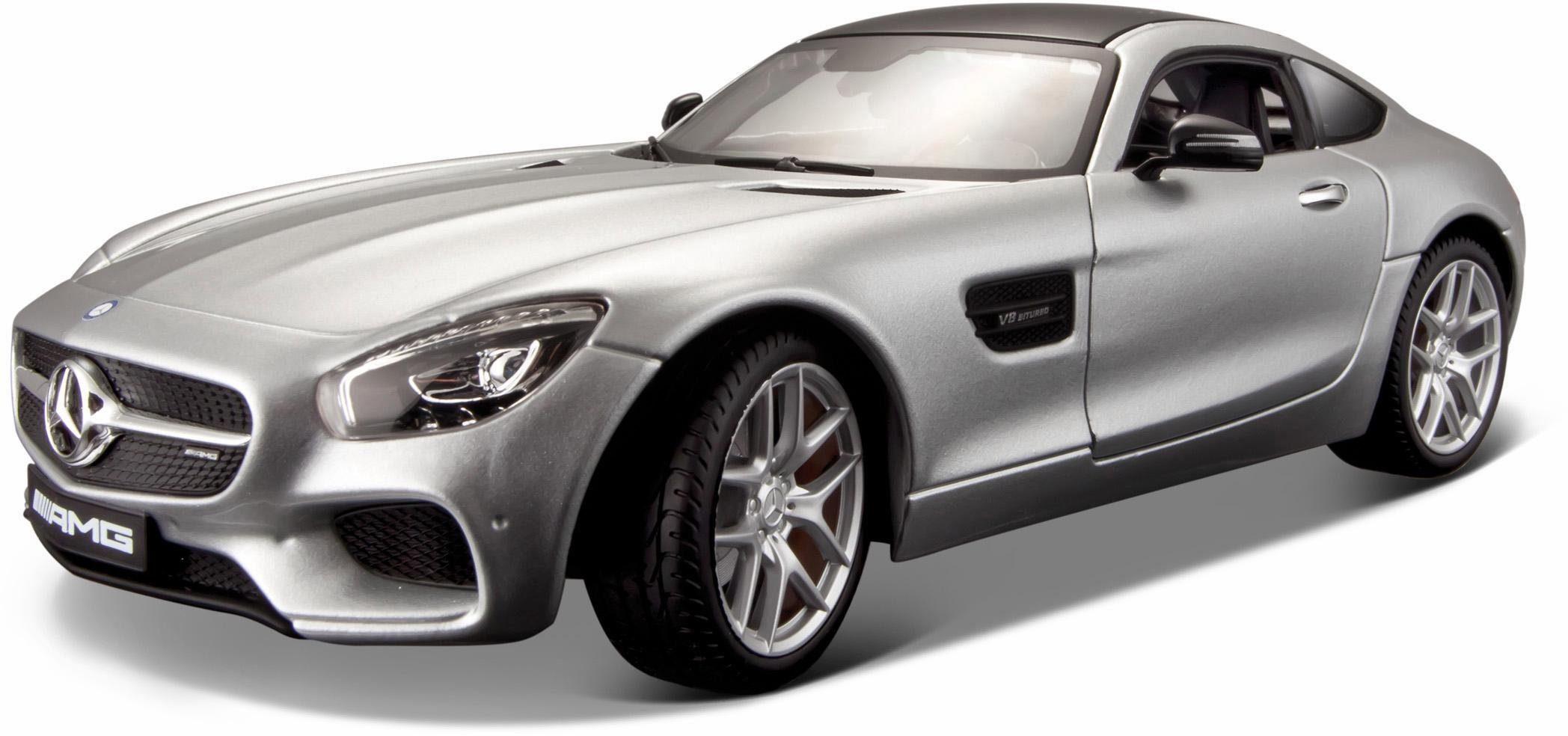 Maisto® Sammlerauto, »Mercedes AMG GT, 1:18, silberfarben«
