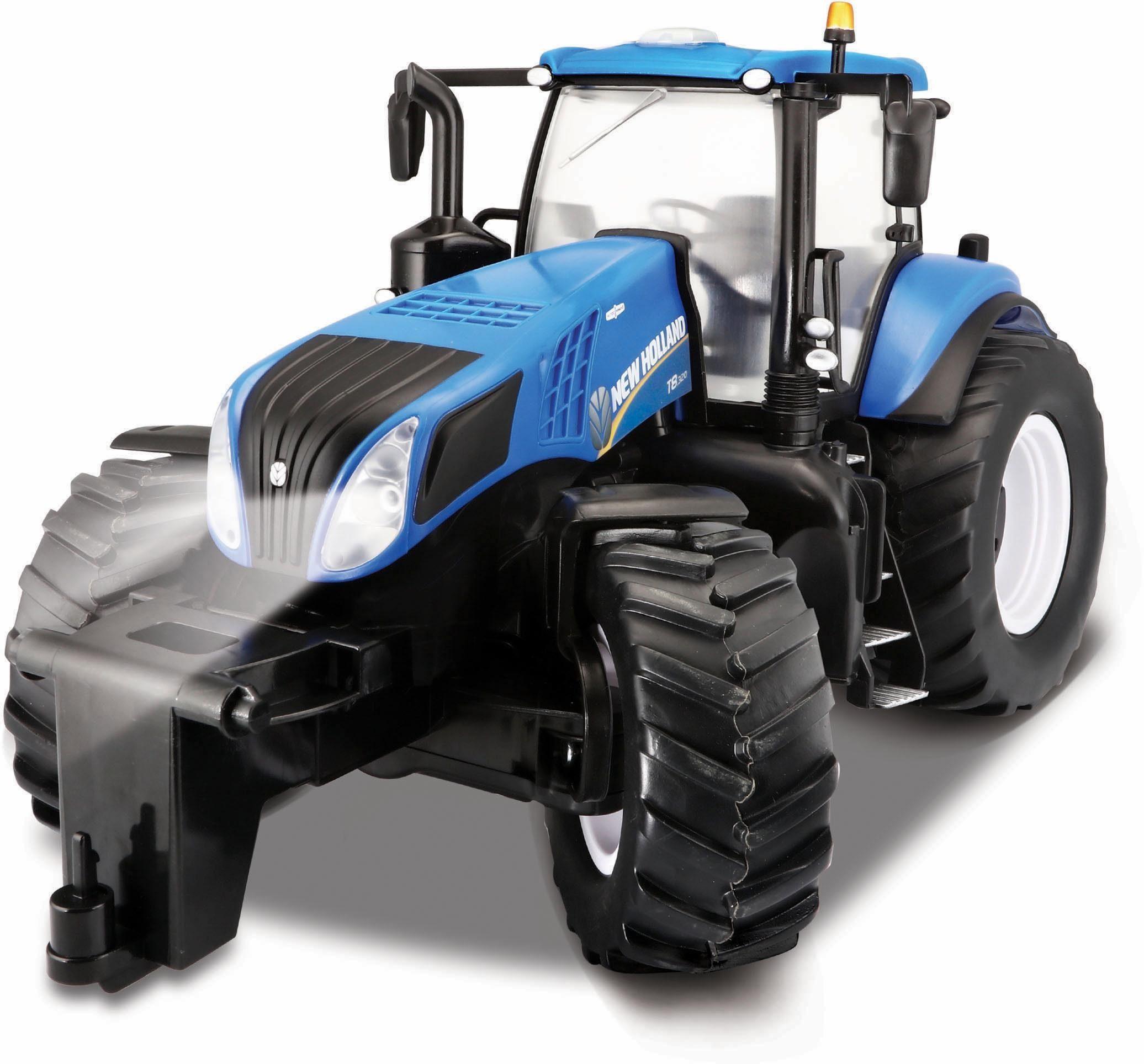 Maisto Tech® RC Traktor mit Licht, »Farm Tractor New Holland T8.320, 1:16, 27 MHz«