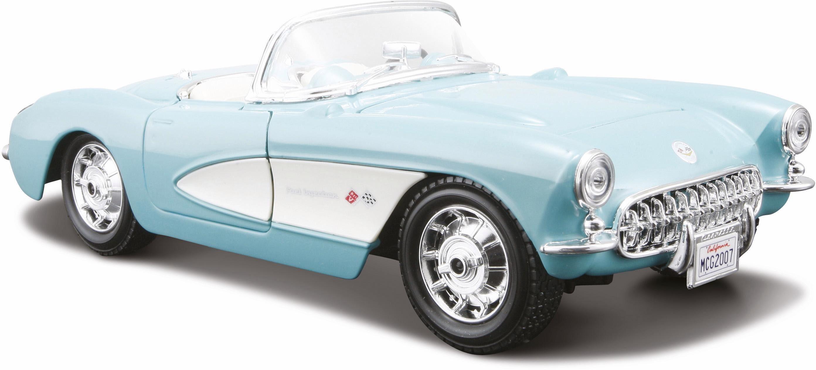 Maisto® Sammlerauto, »Chevrolet Corvette '57, 1:24, türkis«