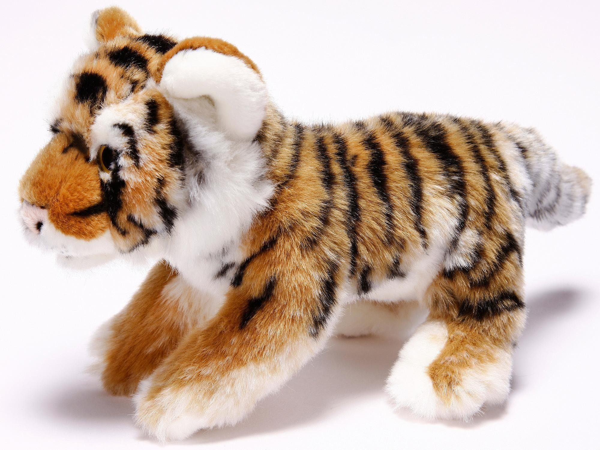 Heinrich Bauer Plüschtier, »Tiger liegend, ca. 23 cm, aus der Serie Blickfänger«