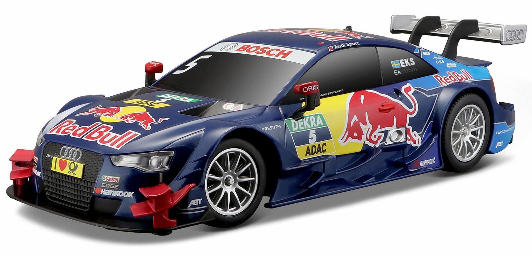 Maisto Tech® RC Auto, »Audi RS5 DTM '15, 1:24, 27/40 MHz, blau«