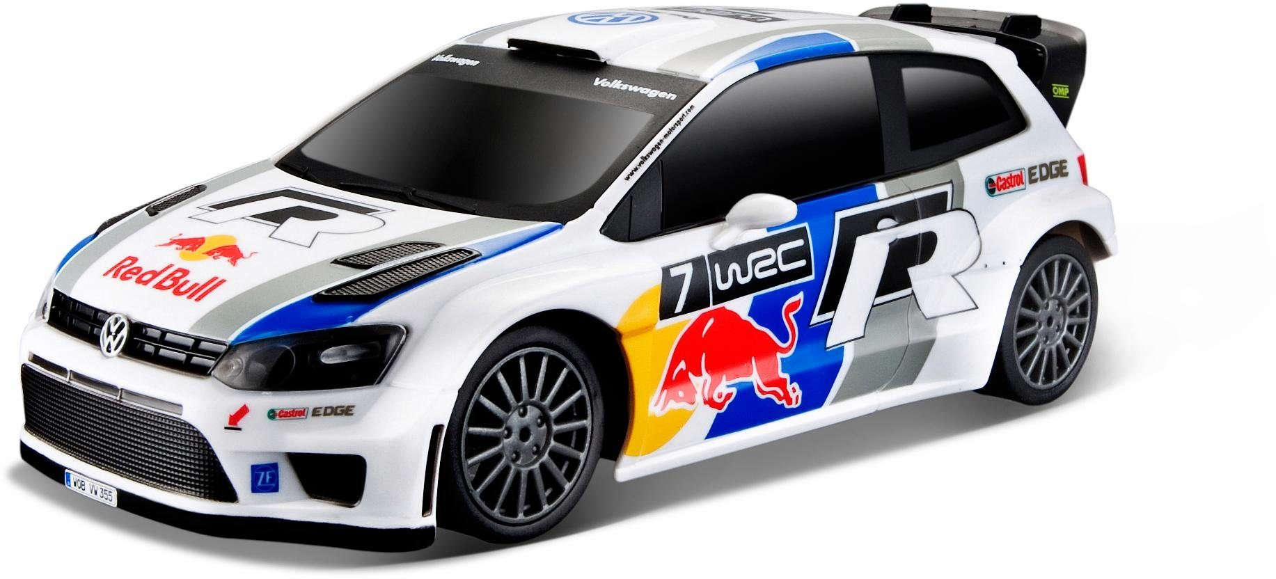 Maisto Tech® RC Auto, »VW Polo R Red Bull WRC, 1:24, 27/40 MHz«
