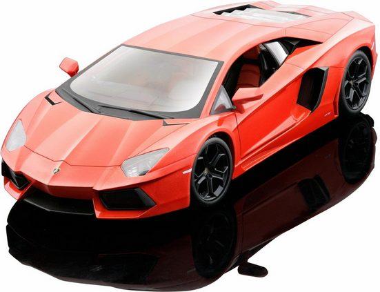 Maisto® Sammlerauto »Lamborghini Aventador LP700-4 11, 1:24, orange«, Maßstab 1:24, aus Metallspritzguss
