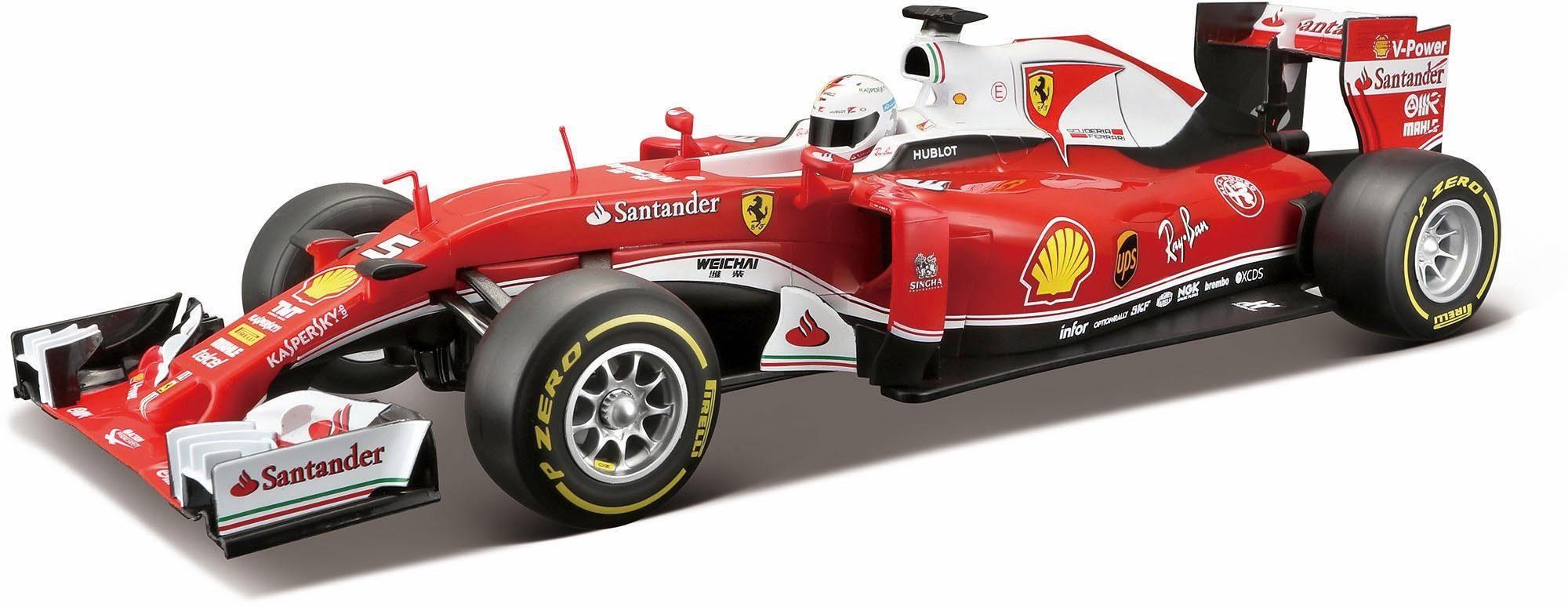 Maisto Tech® RC Komplettset, »F1 Ferrari SF 16-H, 1:14, 27/40 MHz«