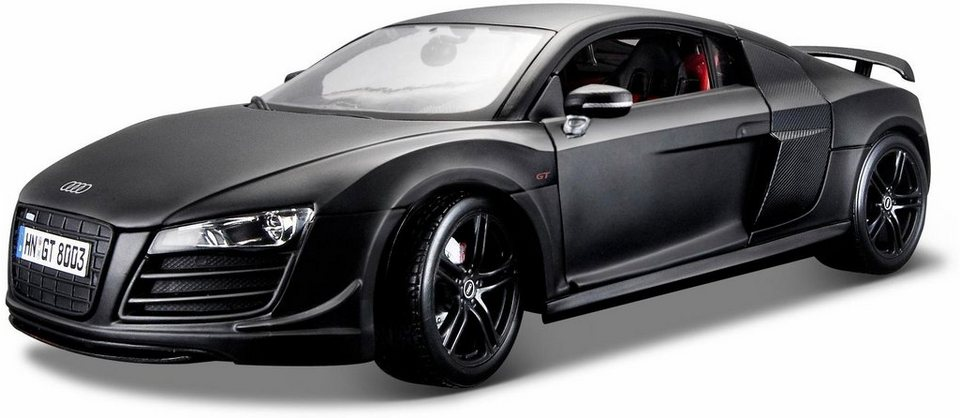 Maisto® Sammlerauto,  Audi R8 GT3, 1:18, schwarz
