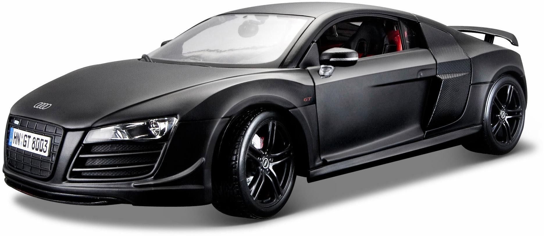 Maisto® Sammlerauto, »Audi R8 GT3, 1:18, schwarz«
