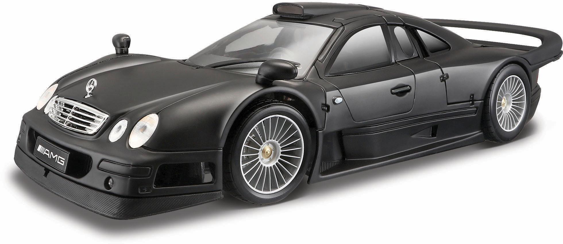 Maisto® Sammlerauto, »Mercedes CLK-GTR Street Version, 1:18, schwarz«