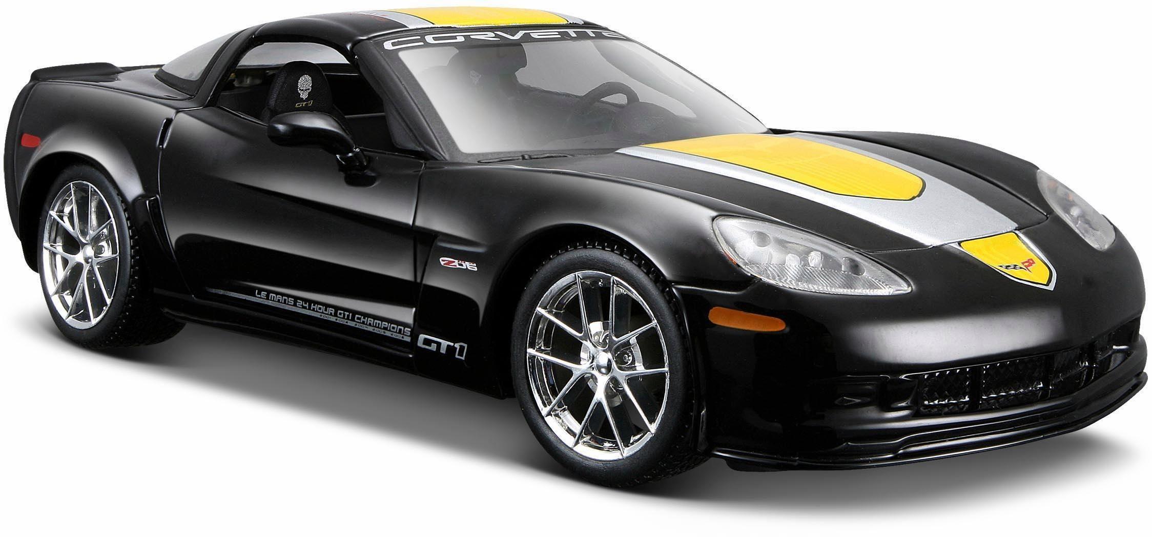 Maisto® Sammlerauto, »Chevrolet Corvette Z06 GT1 09, 1:24, schwarz«