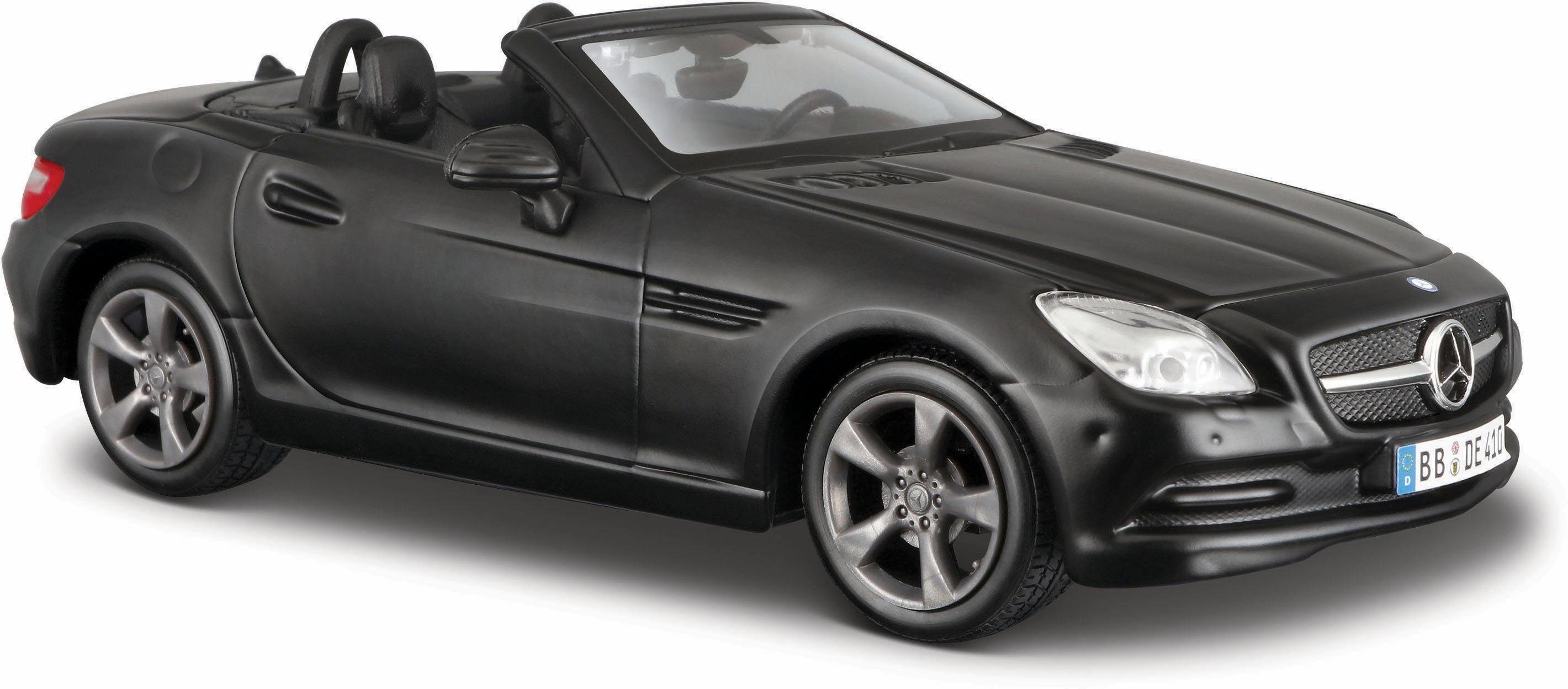 Maisto® Sammlerauto, »Dull Black Collection, Mercedes SLK 11, 1:24, schwarz«