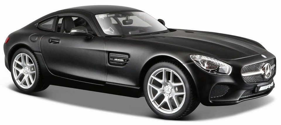 maisto sammlerauto dull black collection mercedes amg. Black Bedroom Furniture Sets. Home Design Ideas