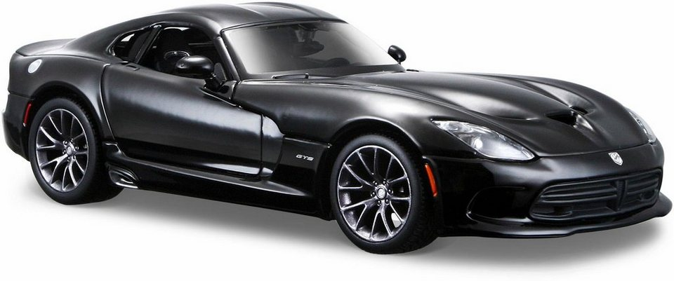 maisto sammlerauto dodge viper gts srt 13 1 24 schwarz online kaufen otto. Black Bedroom Furniture Sets. Home Design Ideas