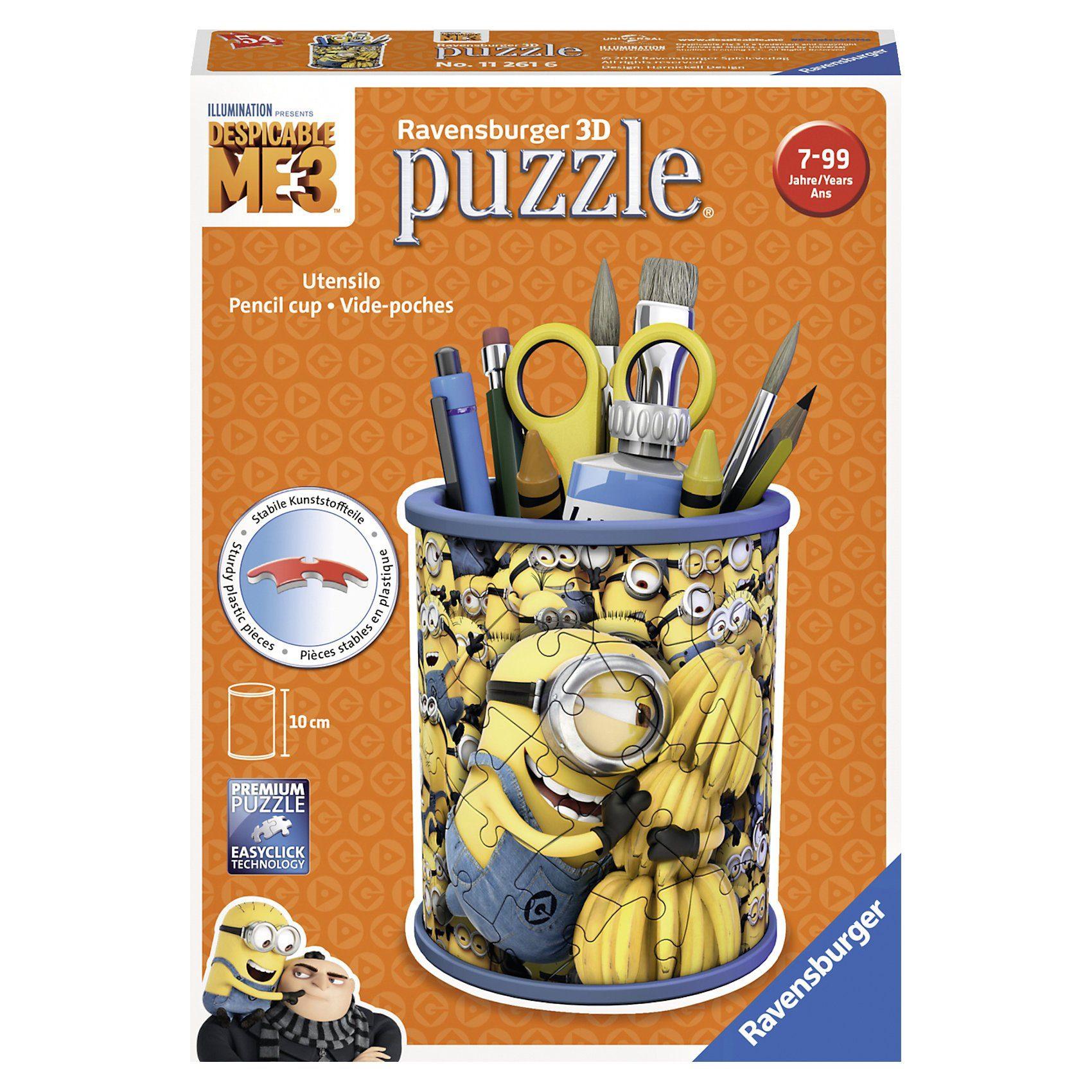 Ravensburger 3D Puzzle Utensilo Minions Ich - einfach unverbesserlich 3